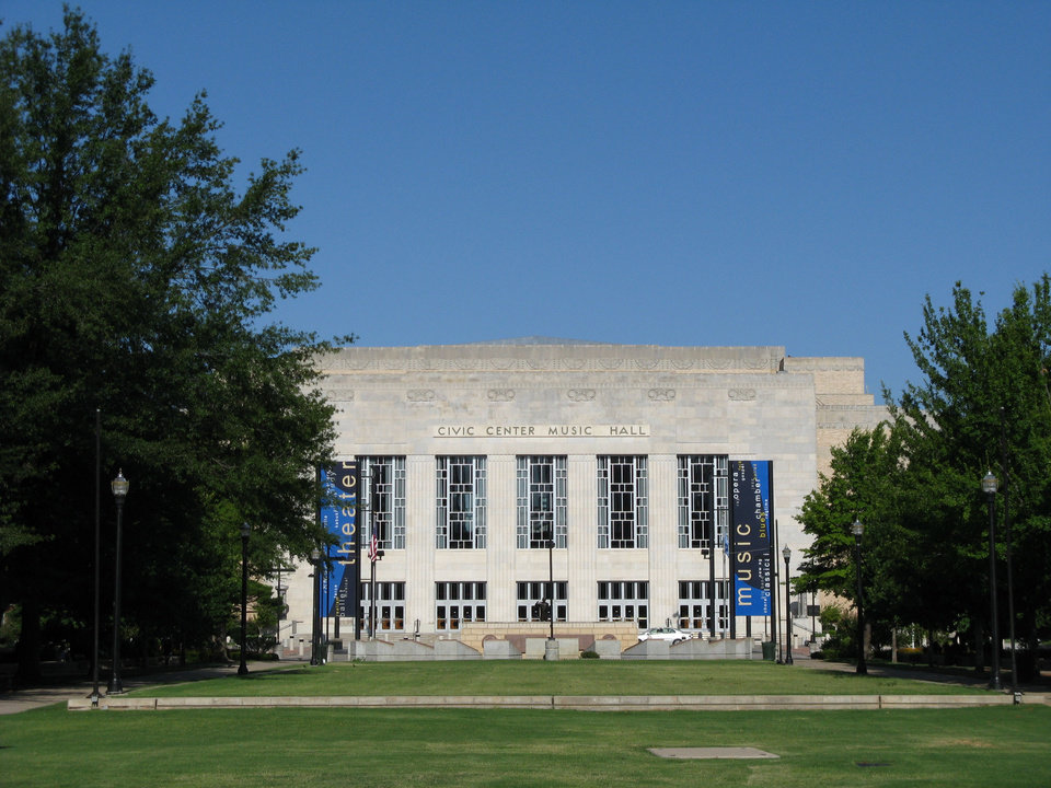 Photo -  Civic Center Music Hall. Oklahoman archives