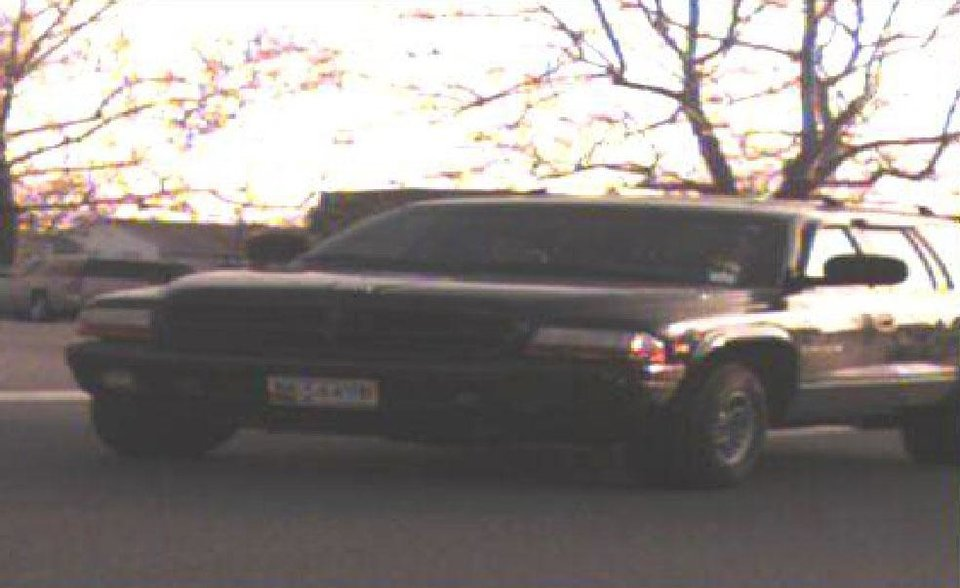 Photo - This photo released by the Federal Bureau of Investigation shows the vehicle of Timothy Virts.  Police searched Thursday, March 6, 2014,  for an 11-year-old girl who was reported missing after her mother was found slain in their home in Dundalk. Baltimore County Police believe the girl, Caitlyn Virts, is with her father, 38-year-old Timothy Virts, and they are concerned for her safety, department spokeswoman Elise Armacost said.
