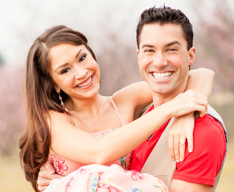 Photo -  Newlyweds Ace Young and Diana DeGarmo Photo provided    Brian Leahy Photography