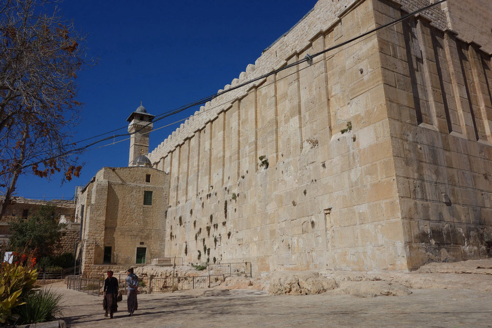 Photo - The Tomb of the Patriarchs in Hebron is holy to all three monotheistic religions. Photo by Rick Steves/Rick Steves? Europe