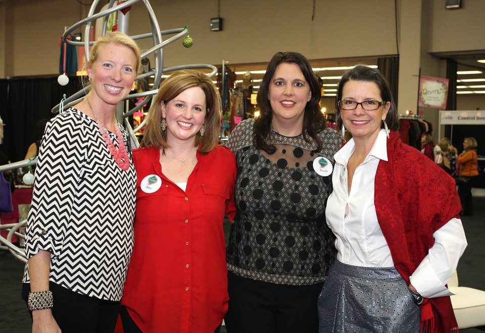 Shannon Love, Amy Parrish, Nicole Dobbins, Sarah Frank. PHOTO BY DAVID FAYTINGER, FOR THE OKLAHOMAN <strong></strong>