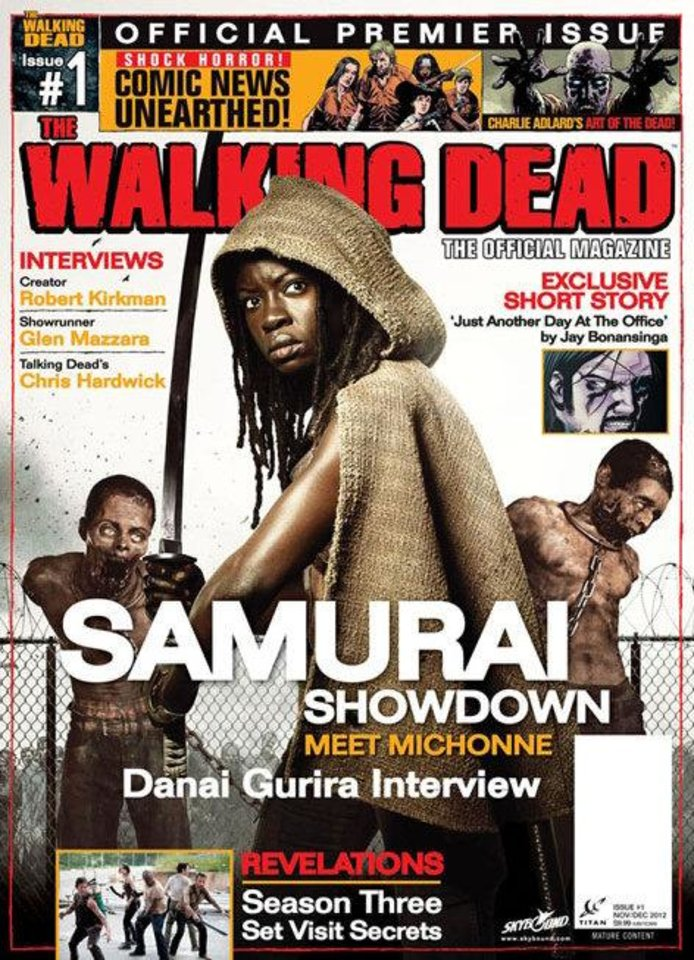 "The cover to ""The Walking Dead Magazine"" No. 1. Titan. <strong></strong>"