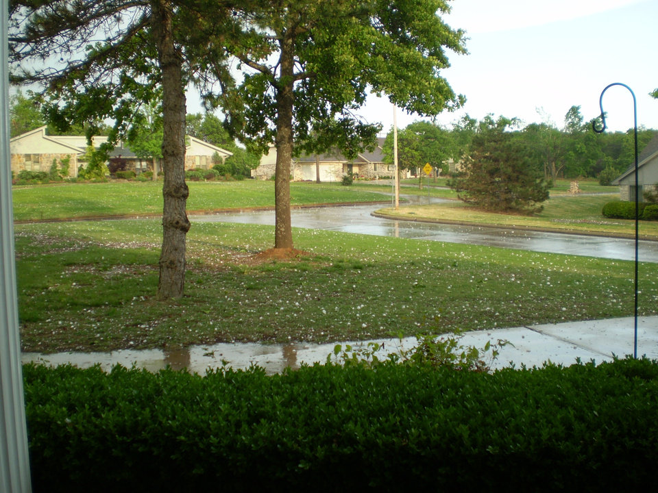 Looking out the front door<br/><b>Community Photo By:</b> Tonua Hulette<br/><b>Submitted By:</b> Tonua, Midwest City