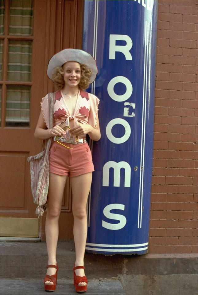 Photo - FILE - In this publicity file photo provided by Columbia Pictures, Jodie Foster portrays a 12-year-old prostitute in the 1976 movie