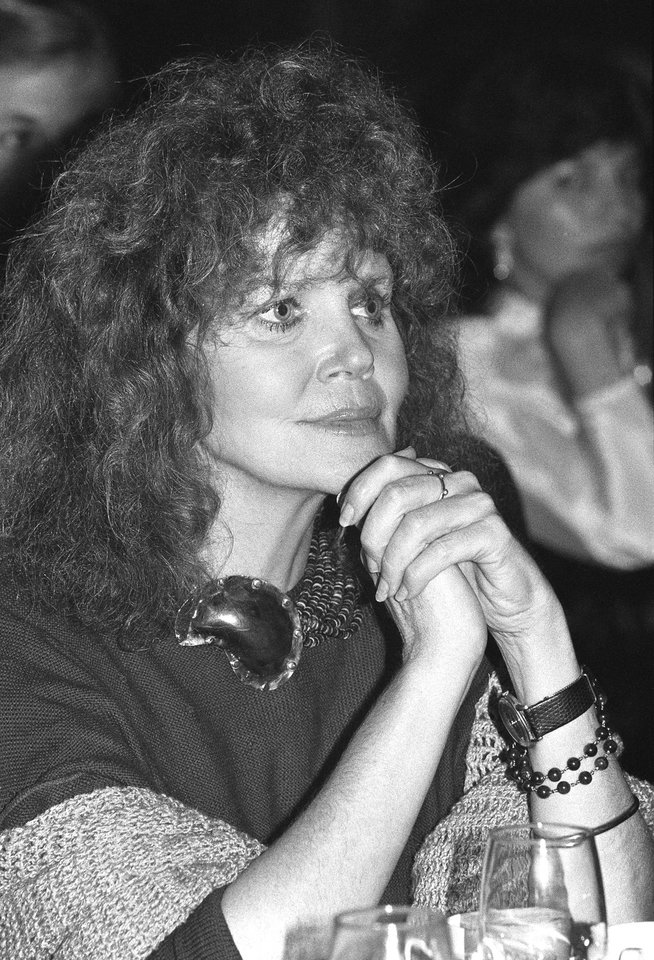 Photo - FILE - This Nov. 7, 1983 file photo shows actress Eileen Brennan, star of
