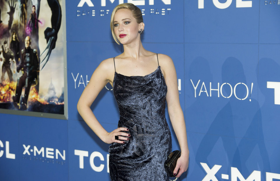 Photo - FILE - In this May 10, 2014 file photo, Jennifer Lawrence attends the