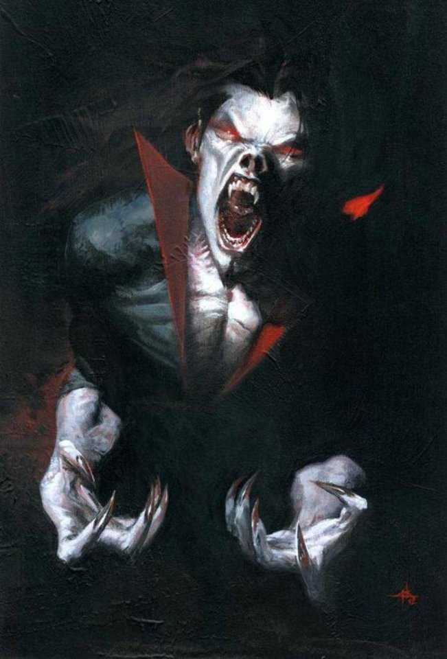 "Joe Keatinge and Rich Elson are the creative team for Marvel Comics' ""Morbius: The Living Vampire,"" set for January release.  Marvel Comics image. <strong></strong>"