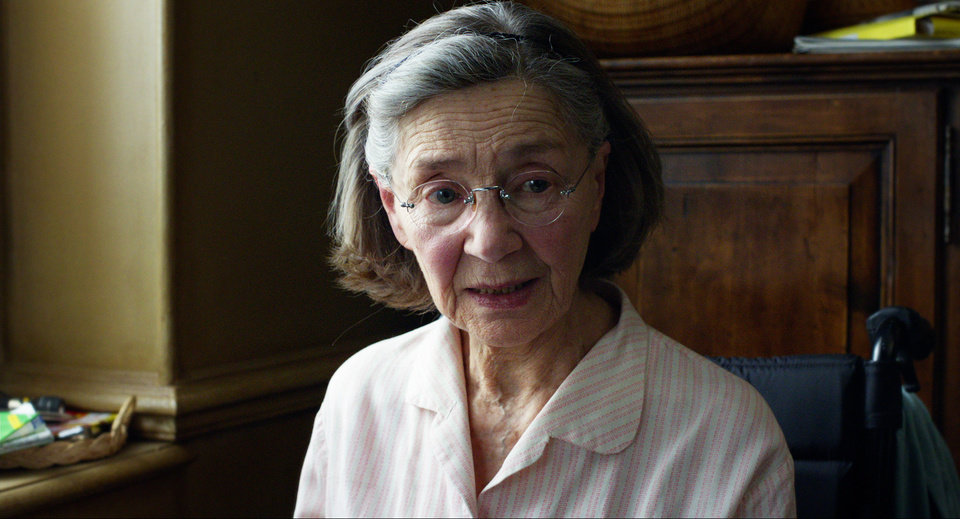 Photo - FILE - This publicity image released by Sony Pictures Classics shows Emmanuelle Riva in a scene from