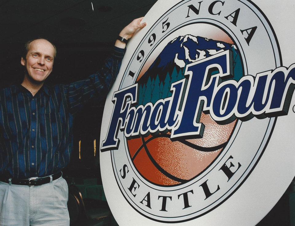 Photo - Bill Hancock began overseeing the Final Four in 1989 and continued in that role until going to work for the Bowl Championship Series.  PHOTO PROVIDED