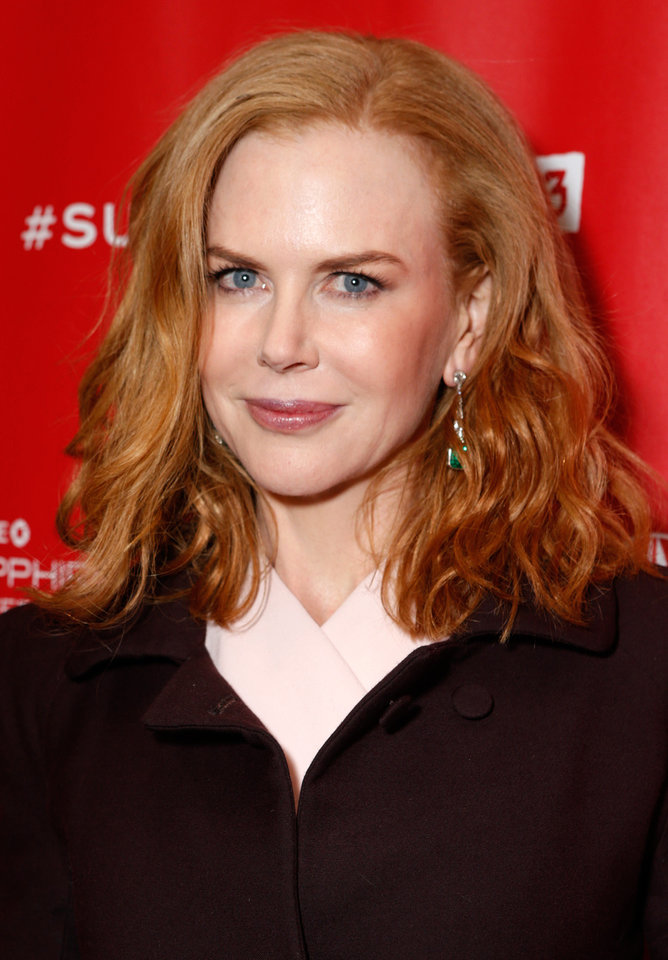 "IMAGE DISTRIBUTED FOR FOX SEARCHLIGHT - Actress Nicole Kidman attends Fox Searchlight's ""The Stoker"" premiere during the Sundance Film Festival on Sunday, Jan. 20, 2012 in Park City, Utah. (Photo by Todd Williamson /Invision for Fox Searchlight/AP Images)"