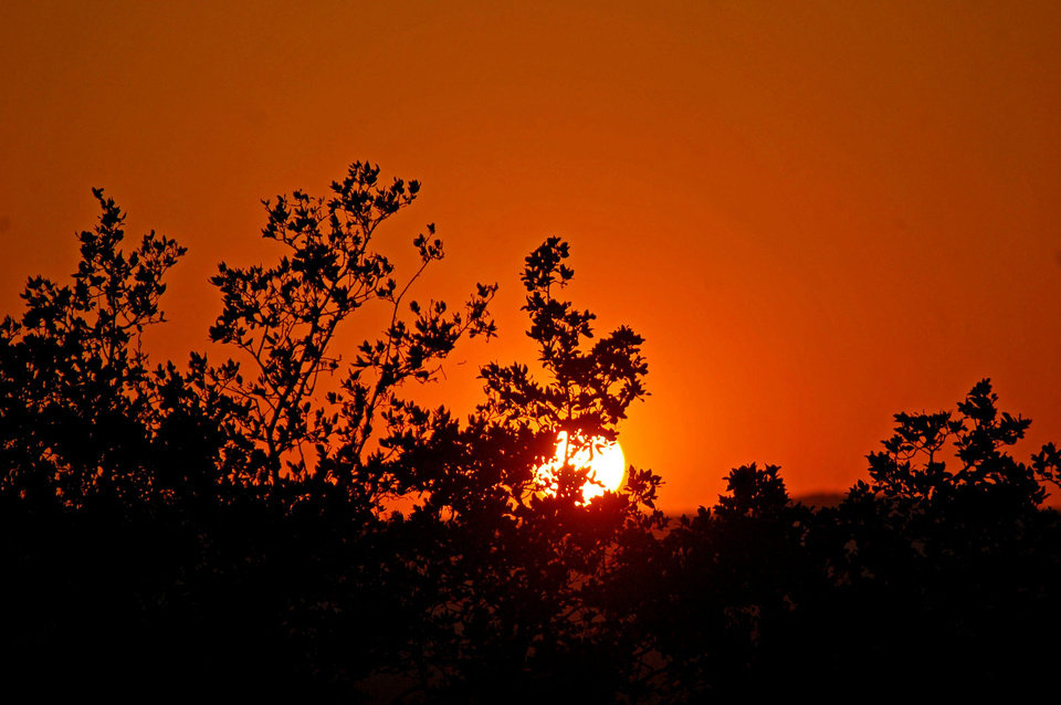 Photo - Sunset marks the end of day in Texas Hill Country. Photo by Wesley K.H. Teo.