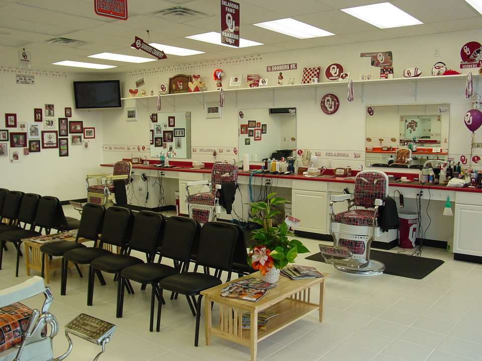 Bedlam Barbershop, OU side, 9040 S. Sooner Rd., 732-2335<br/><b>Community Photo By:</b> Kevin Dyer<br/><b>Submitted By:</b> Kevin, Oklahoma City