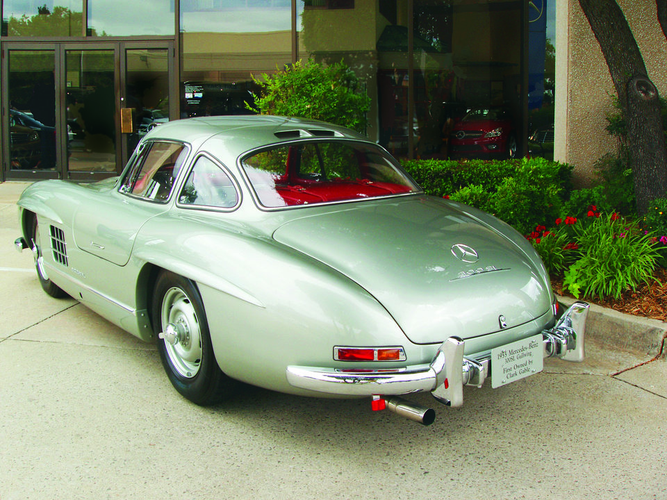 This 1955 Mercedes-Benz 300 SL Gullwing Coupe was sold last month by Oklahoma City auto dealer Bob Howard. Photo provided <strong></strong>