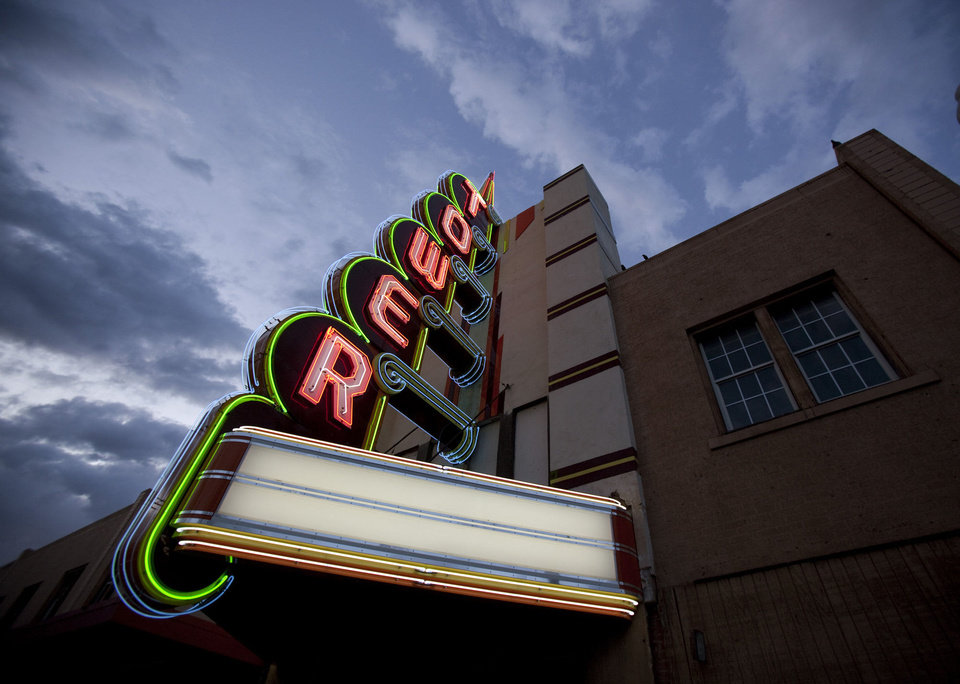 The rebuilt marquee is the only noticable improvement at the Tower Theater, 425 NW 23, since it was purchased eight years ago by Marty Dillon. <strong>SARAH PHIPPS</strong>