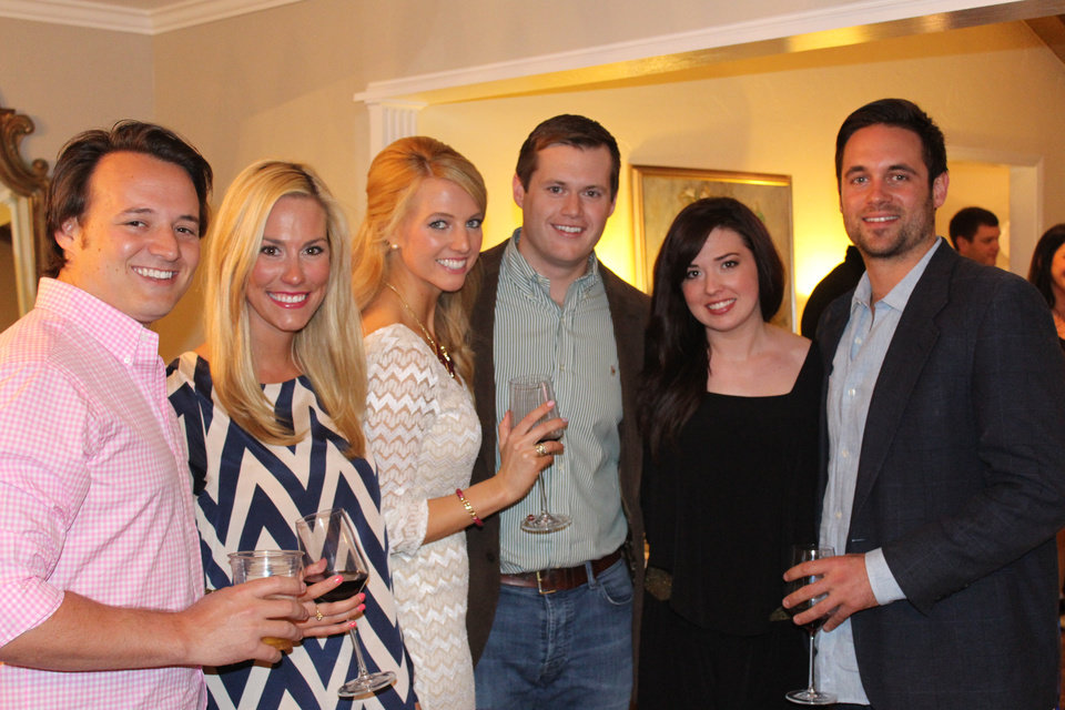 Photo - Robert Hefner V, Kellie Hefner, Alexis Hefner, Blake Burckart, Colbie Magness, Pope Van Cleef. PHOTO PROVIDED____