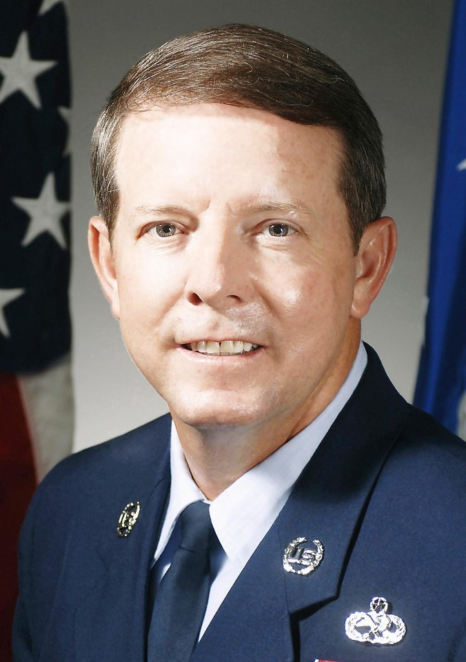 Photo - Rodney J. McKinley rose to the highest noncommissioned officer position in the U.S. Air Force.   Photo Provided  -  Photo Provided