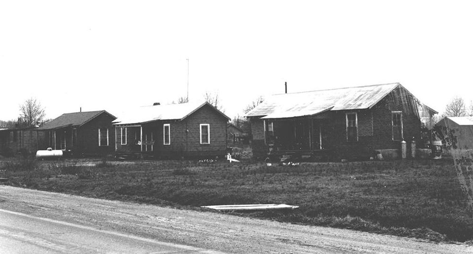Photo - This vintage picture shows the town of Mount Bayou, Mississippi, where Jo Ivester and her family lived for two years in the 1960's. [Photo provided]