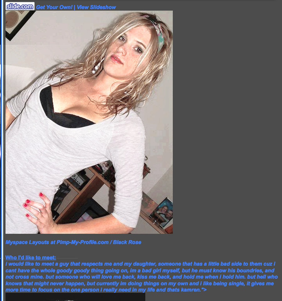 Photo - Terri Rehm, seen here in a snapshot from her online social networking account, is charged in connection with the June 25 death of Richard Bradley Tucker in Oklahoma City.