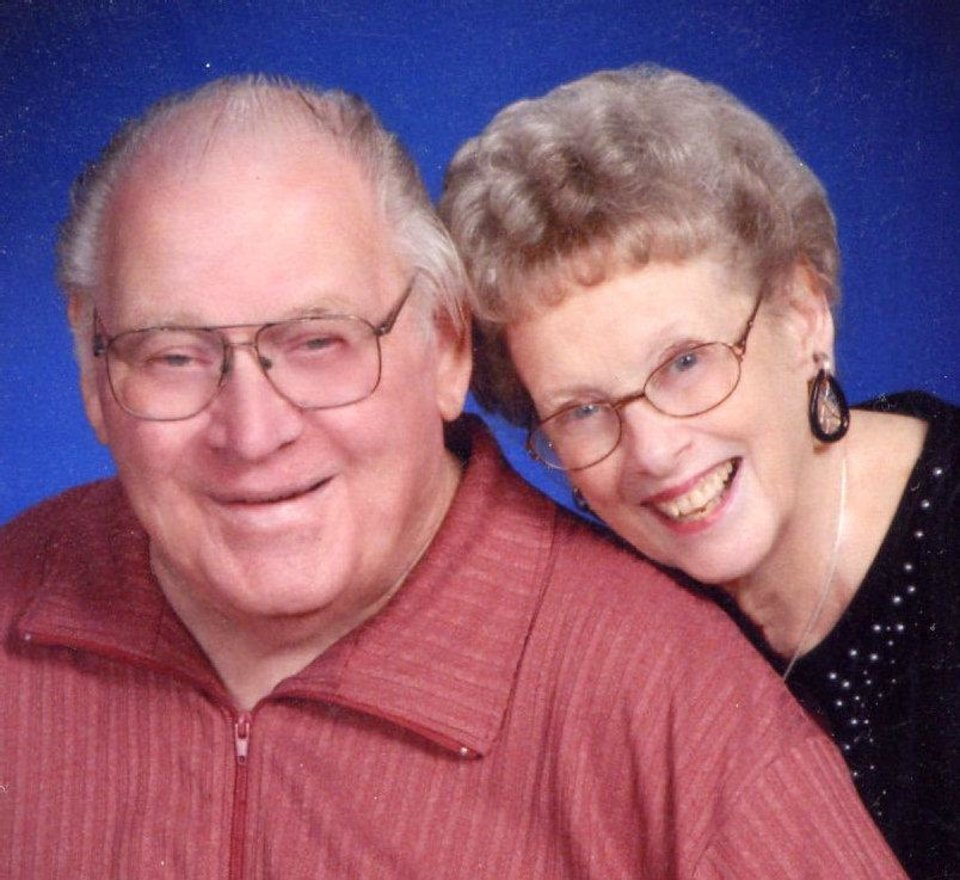 Bob and Velta Stringer, of Perry, were married Aug. 28, 1949, in Edmond.
