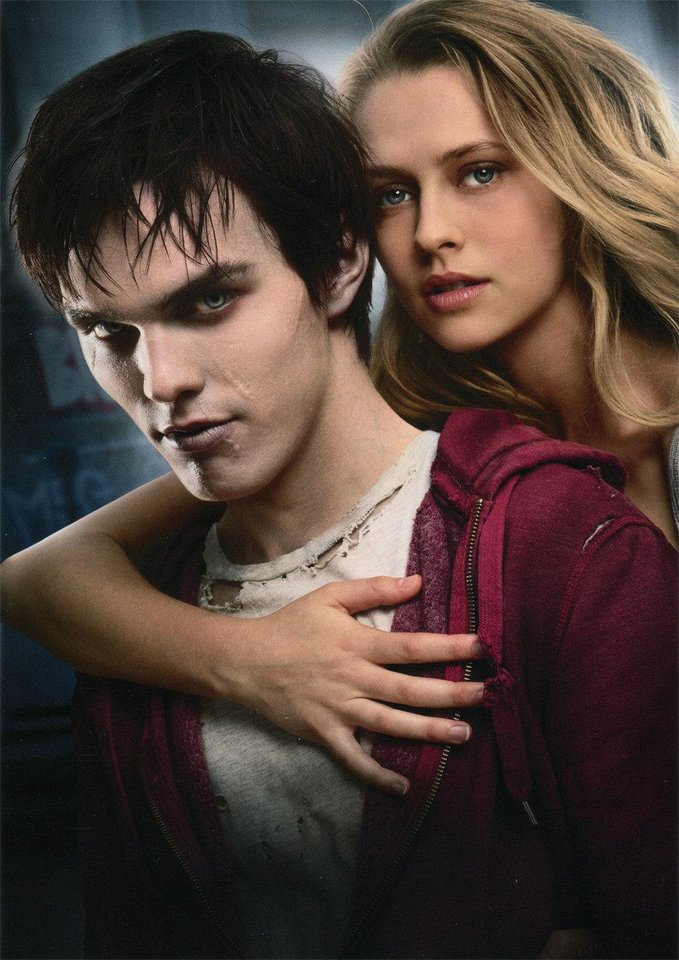 Nicholas Hoult and Teresa Palmer in a scene from