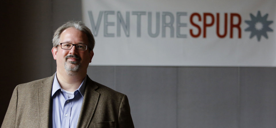 Kraettli L. Epperson, managing director and co-founder of VENTURESPUR in Oklahoma City. PHOTO BY STEVE GOOCH, THE OKLAHOMAN <strong>Steve Gooch - The Oklahoman</strong>