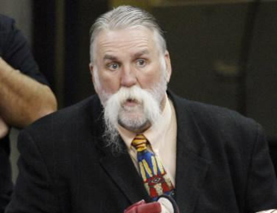 Photo - Oklahoma City Balzers coach Doug Sauter is seen in this October 2008 photo by Nate Billings