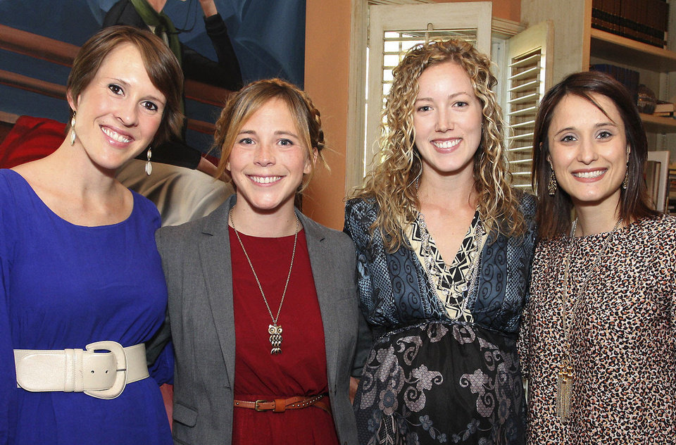 Photo - Liza Cryder, Annie Brown, Chandler Walters,  Michelle Briggs.