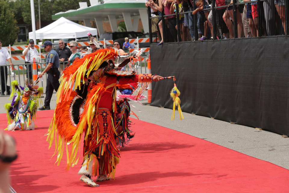 "Dancers at the Lawton premiere of ""The Lone Ranger."" <strong>The Oklahoman - By Greg Singleton</strong>"