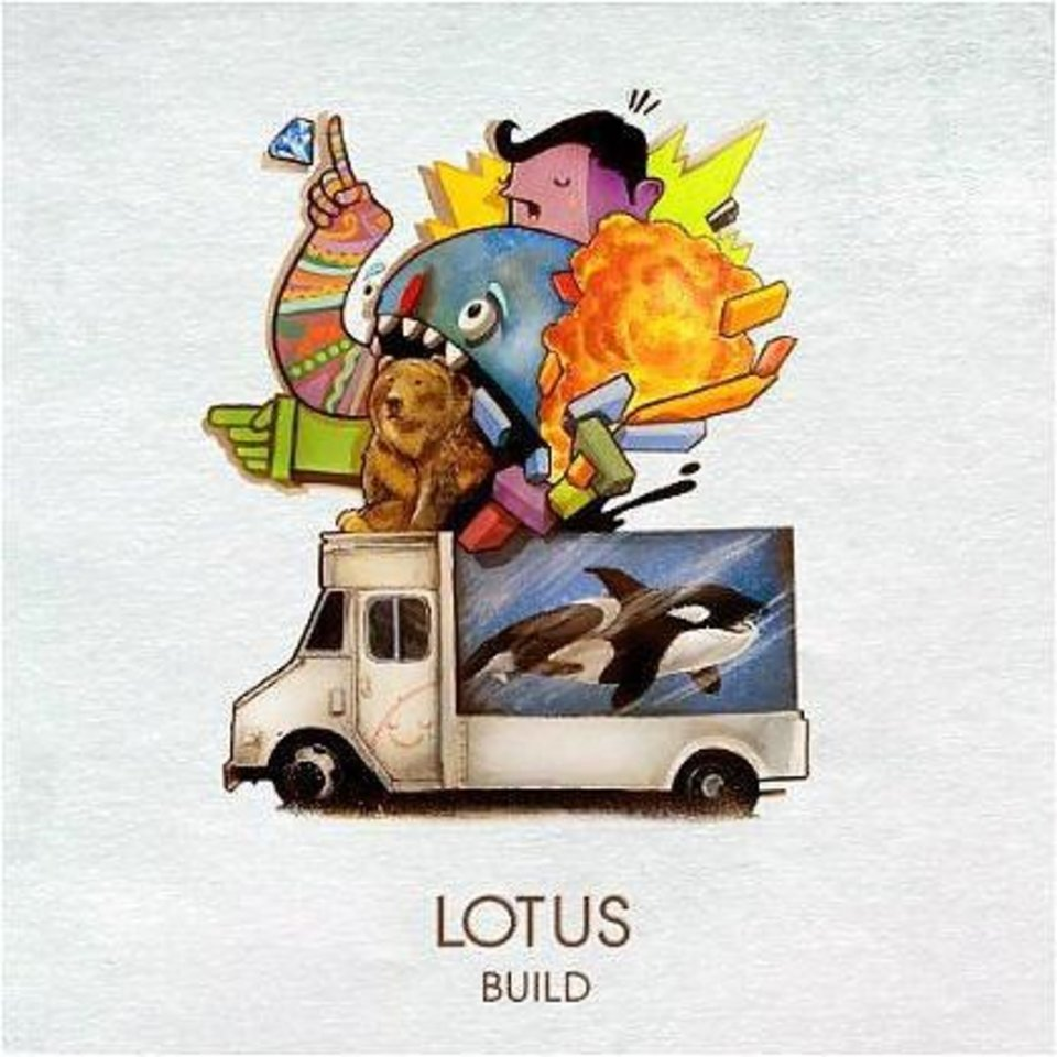 "Cover for Lotus' album, ""Build."" <strong></strong>"