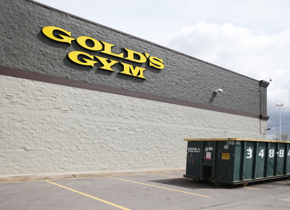 This is the site of the future Gold's Gym, northwest of Pennsylvania and Memorial Road in Oklahoma City, OK, Thursday, March 22, 2012,  By Paul Hellstern, The Oklahoman
