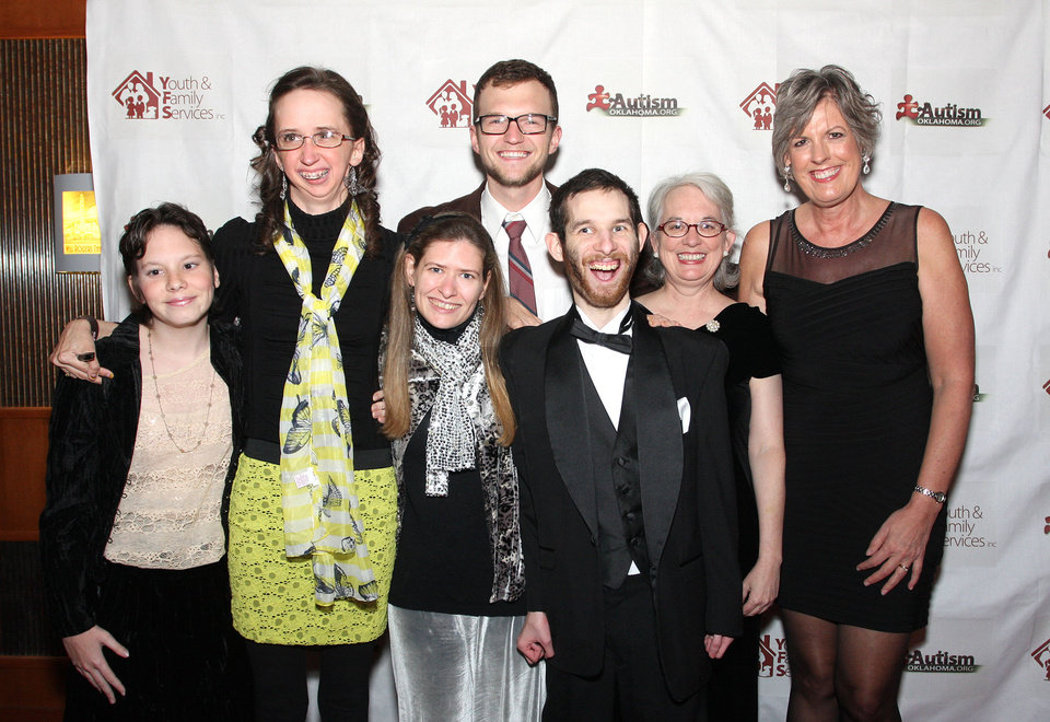 Photo - Allie Jelinek, Ashley Parker, Lindsay Pluess, Brandon Smith, David and Dee Blose, Melinda Lauffenburger. Photo by David Faytinger for the Oklahoman__