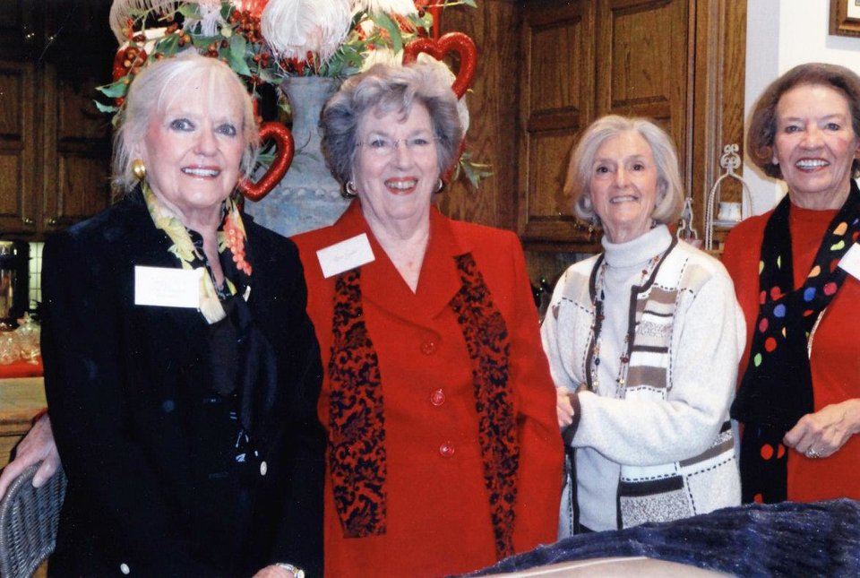 Photo - Shelly Fleet, Sue Gabe, Gayle Keeton, Lynn Clark. PHOTO PROVIDED