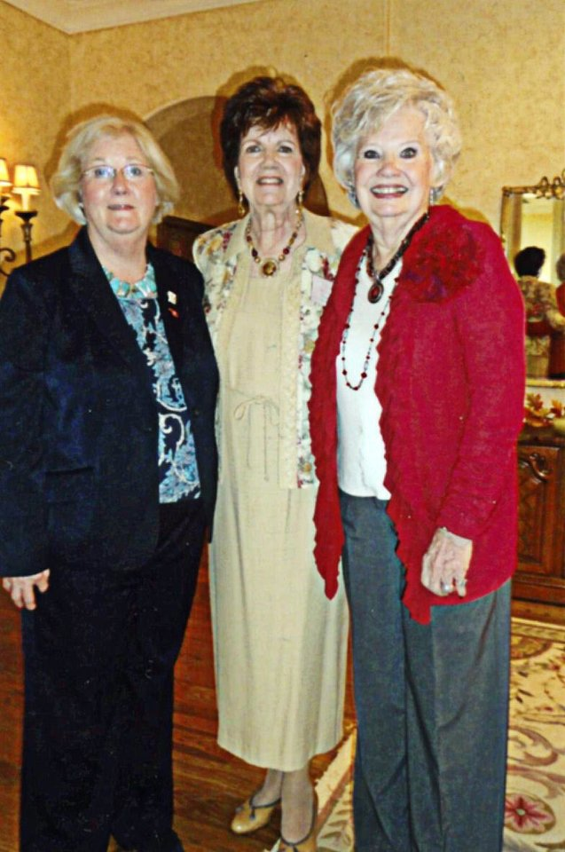 Photo - Evelyn McCoy, Karan McDonald, Dorothy Tebow.  PHOTO PROVIDED