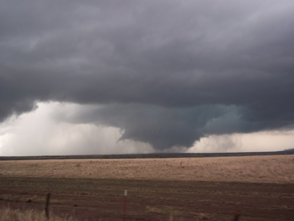 Tornado just North of Indiahoma 11/07/2011 Taken by Katelynn Hyden