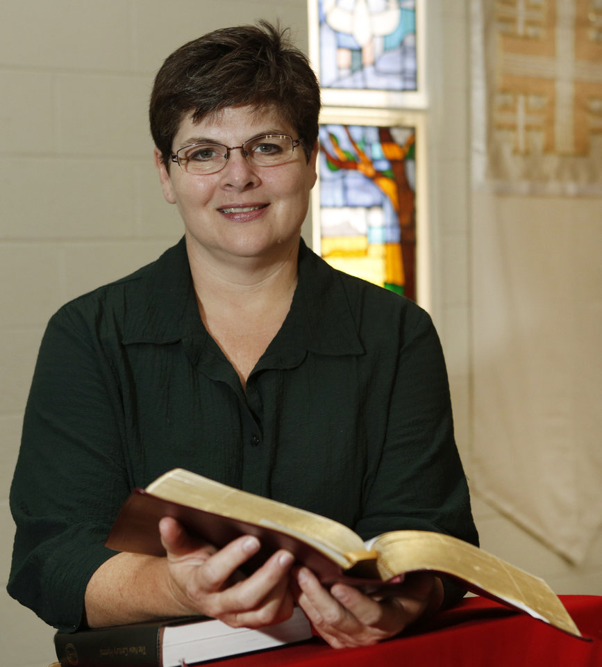 The Rev. Kathy McCallie  <strong>Steve Gooch - The Oklahoman</strong>