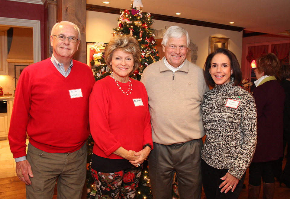 John and Dee Harris, Carl and Sue Edwards. Photo by David Faytinger for the Oklahoman____