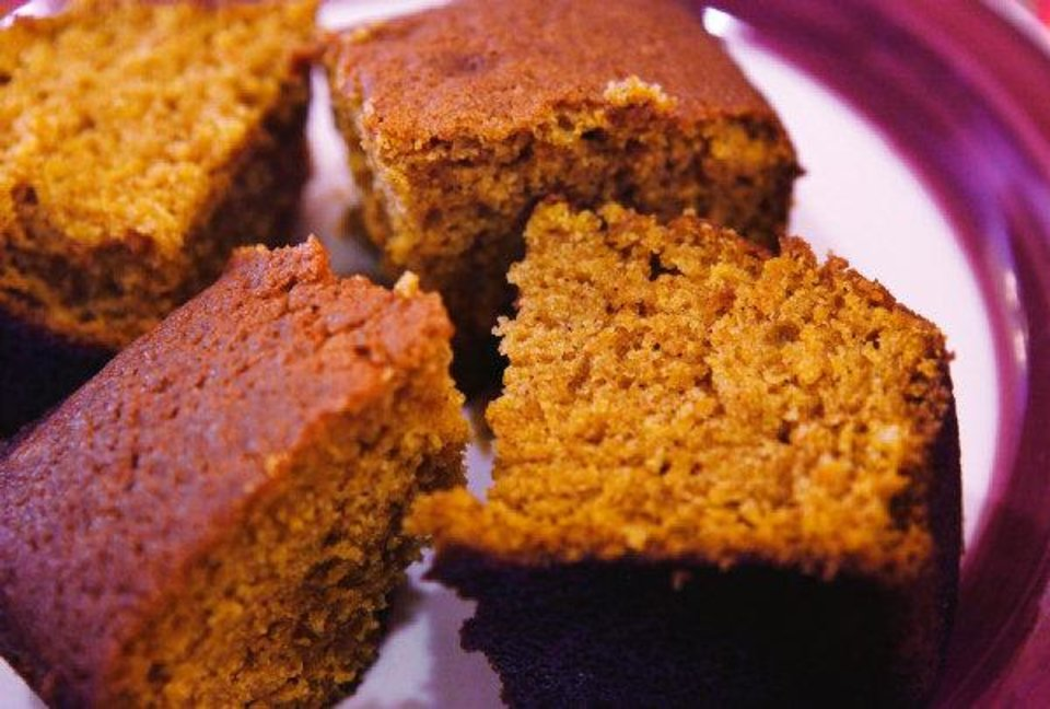 Photo - Pumpkin bread makes a perfect addition to your Thanksgiving table.  JIM BECKEL - THE OKLAHOMAN