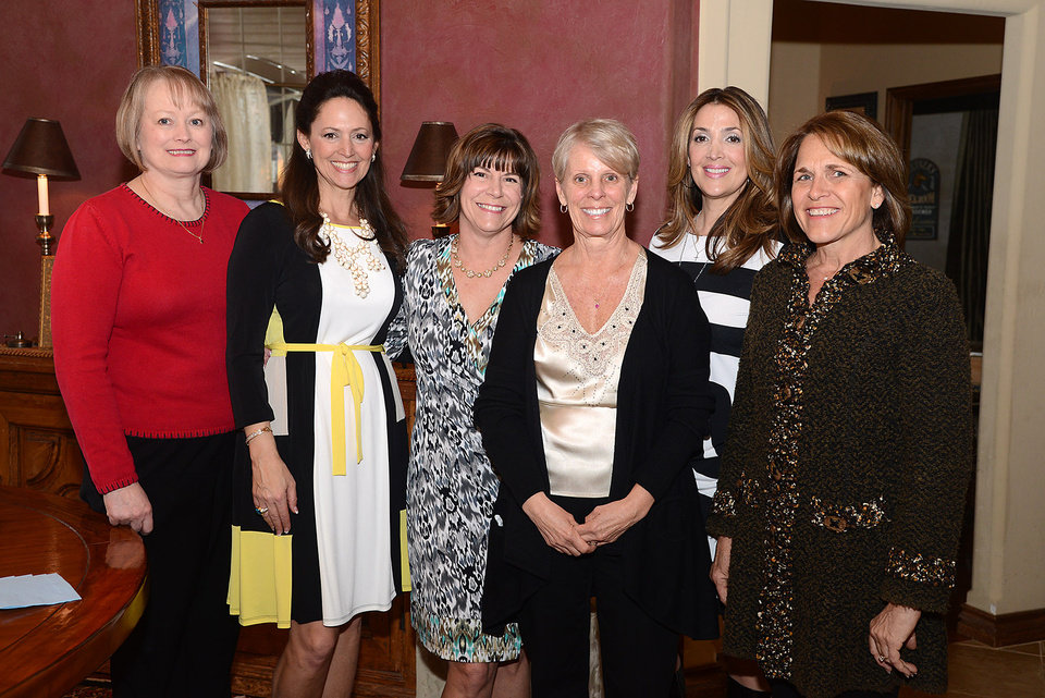 Photo -  Marilyn Cadwell, Carol Hefner, Tracy McFall, Cindy Kender, Julie Solheim, Mary Clark.