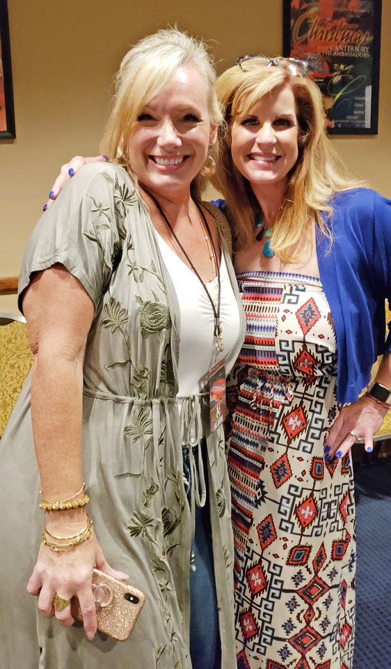 Photo - Tamra Buchanan, Vickie Banta. Photo by Rick Buchanan, for The Oklahoman