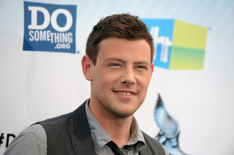 Photo - FILE - This Aug. 19, 2012 file photo shows actor Cory Monteith at the 2012 Do Something awards in Santa Monica, Calif.  Monteith, who shot to fame in the hit TV series