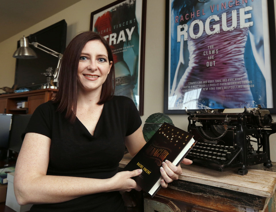 Photo -  Rachel Vincent is an Edmond author who has written at least 20 books. Her latest,