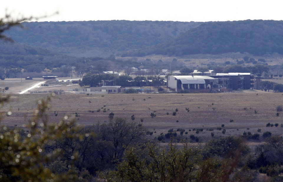Photo - View of some buildings on the property of Rough Creek Lodge photographed Sunday, Feb. 3, 2013. Chris Kyle and Chad Littlefield were found murdered at the gun range on the property. (AP Photo/The Fort Worth Star-Telegram, Richard W. Rodriguez)