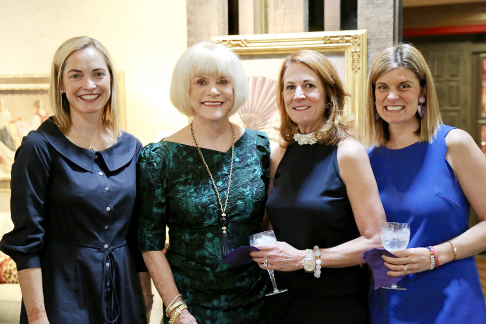 Photo - Sally Starling, Judy Love, Louise Bennett, Mollie McCurdy. PROVIDED PHOTO