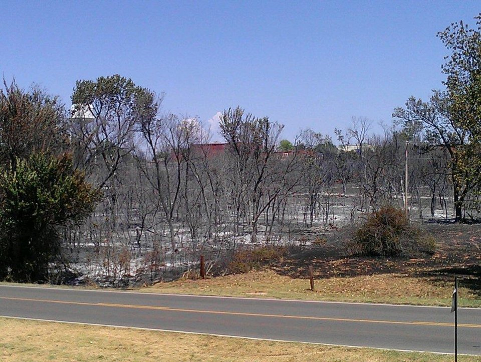aftermath of the Luther Wildfire -- submitted by Crystal Mustard