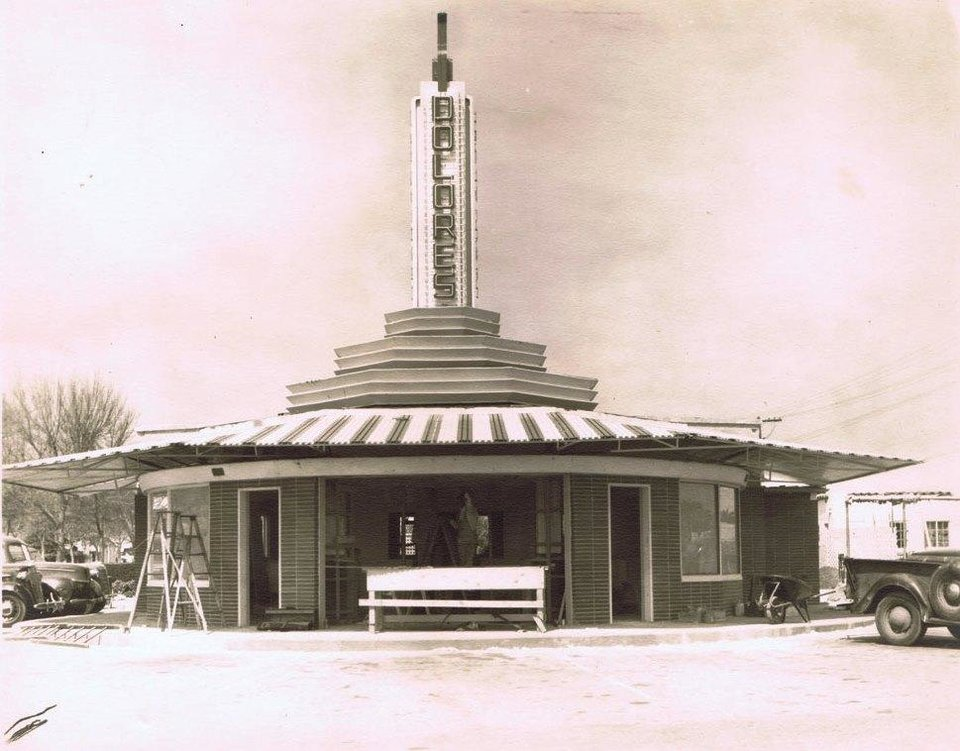 Photo -  The Dolores Restaurant was even more popular in California than it was in Oklahoma. [Photo courtesy Oklahoma History Center]