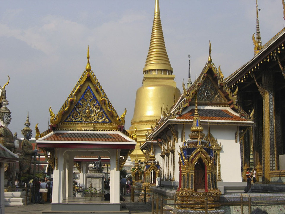 Photo -  Magnificent structures are everywhere on the grounds of Thailand's Grand Palace in Bangkok. Photo courtesy of Barbara Selwitz.