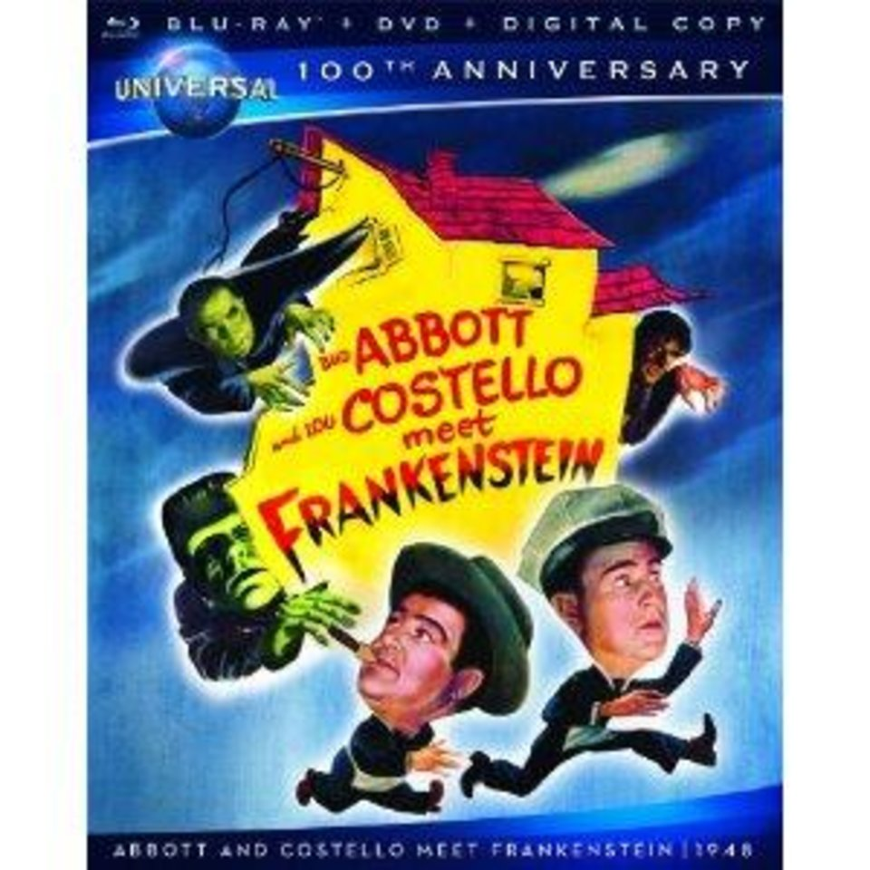 """Abbott and Costello Meet Frankenstein.""  Universal. <strong></strong>"