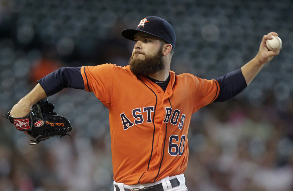 How Dallas Keuchel makes a bunch of old Oklahoma prep ...