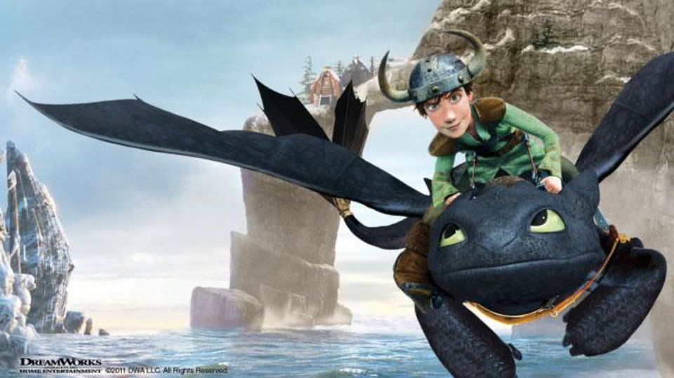 "Join Hiccup and Toothless as the holiday spirit spreads throughout Berk in the exclusive broadcast premiere of ""DreamWorks Dragons: Gift of the Night Fury."" - Photo provided by Fox"