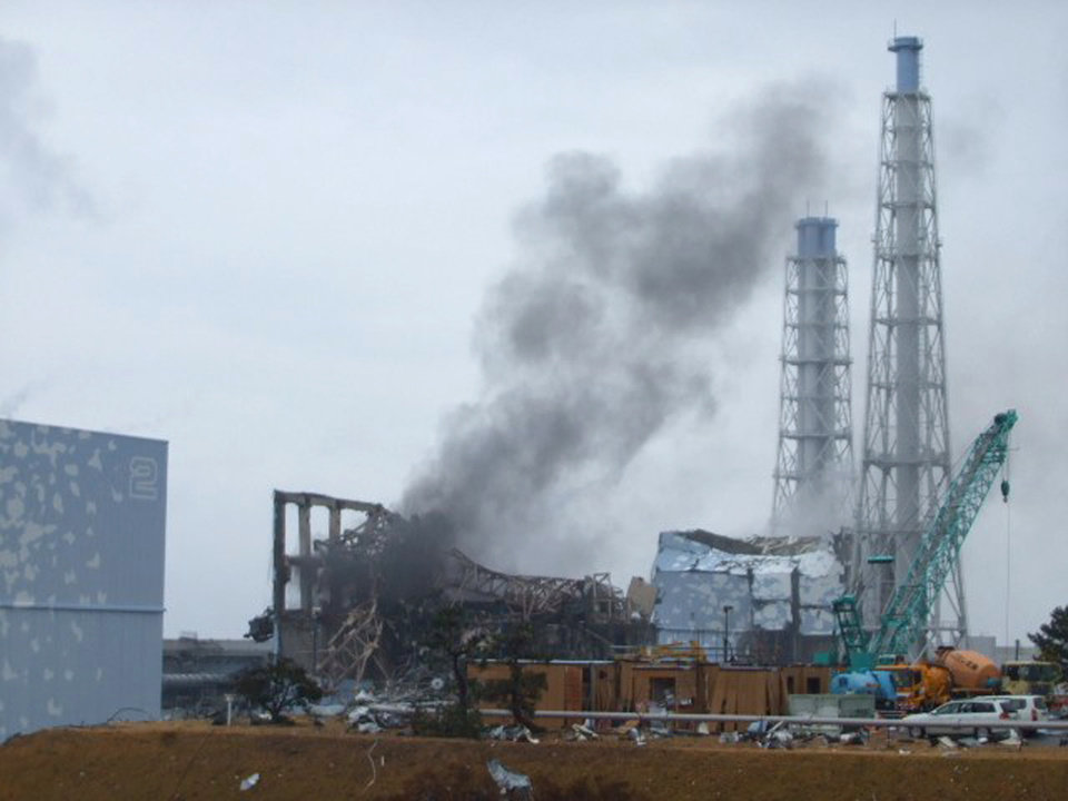 Photo - FILE - In this March 21, 2011 file photo provided by Tokyo Electric Power Co. (TEPCO), smoke rises from the Unit 3 reactor of the tsunami-damaged Fukushima Dai-ichi nuclear plant in Okuma town, Fukushima prefecture, northeastern Japan. The U.S. government has intensified research on more durable fuel in the aftermath on the accident in Japan. (AP Photo/Tokyo Electric Power Co., File) EDITORIAL USE ONLY